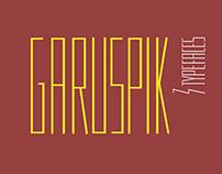 шрифт Гаруспик | Garuspik type