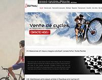 Cycles Barteau Webdesign + Logo
