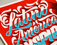 Latino América INSPIRA y RESPIRA - Poster Design