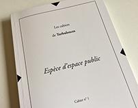 Revue littéraire Les Cahiers de Turbulences Cahier N°1