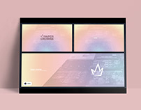 PaperCrowns // Social Media graphics