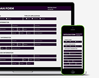 Responsive Autoloan Form | HTML5, CSS3, ParsleyJS