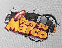Logo Party DJ Marco