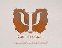 Logo for psychologist Carmen Salazar