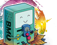 BMO TATTOO DESIGN