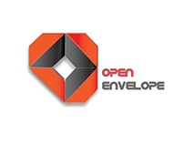 Open Envelope Logo Design