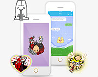Line Stickers and Themes
