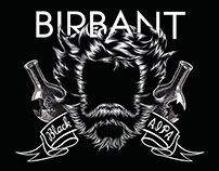 BIRBANT - craft beer labels