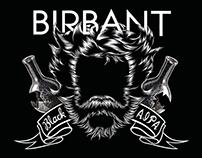 BIRBANT - craft beer labels