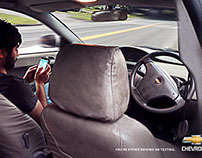 Don't text and drive-Print Campaign (work in progress)