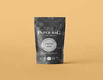 Standing Pouch Bag Mockup