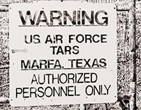 Marfa TARS Signboard