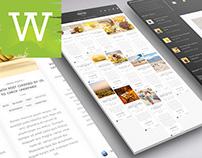 WordPress Blog Theme With Full Width Masonry Grid Style