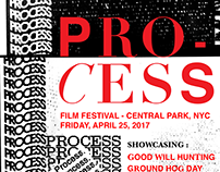 """PROCESS"" - Film Festival Poster Design Series"