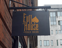 Full House Tavern Branding