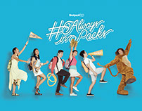 Bratpack Back-to-School Campaign #AlwaysInPacks