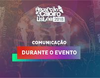 Comunicação Evento - Recepção ao Caloiro de Lisboa 2018
