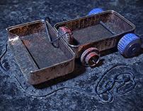 Old Toy Memories - CG Render