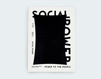 SOCIAL POWER CREATIVE PLAN BOOK 探討示威運動的視覺設計