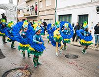 Batuque (Ala Mirim) - Carnaval Mealhada 2018