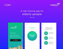 Rabbie - Ride sharing app (UI/UX)