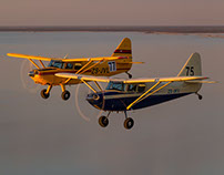 The Stinson's Air-to-Air