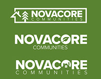Novacore Communities -Logo Concepts