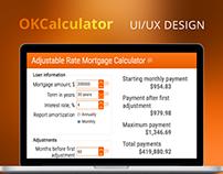 Financial Calculators UI/UX Design & CSS coding