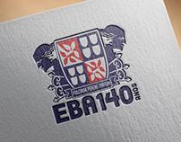 Brasão Comemorativo 140 anos EBA - UFBA