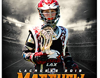 Lacrosse sports photography template