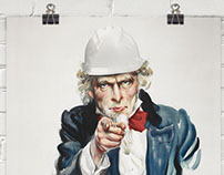 "Uncle Sam ""I Want You"" PPE Poster"