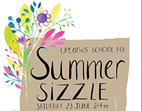 School fete poster design