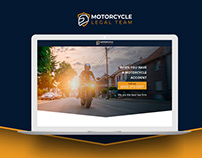 Motorcycle Legal Team | Landing page