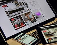 Webdesign for Fagmøbler Norge