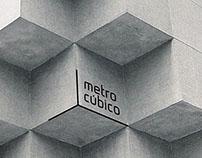 Identidade visual para Metro Cúbico