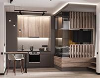 Studio apartment for man