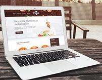Pizzaiolo main page design