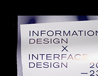 Information Design X Interface Design