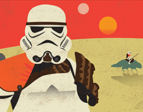 Star Wars™ Original Trilogy Trooper Banners