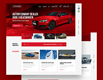 Car dealer website redesign