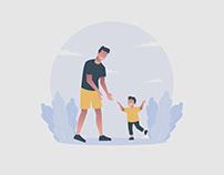 Father Illustration 04