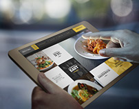 Personality infused Restaurant Website Designs