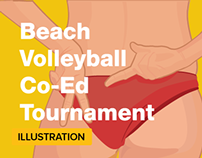 Beach Volley Ball Poster