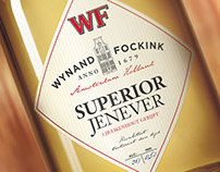 WF jenever packaging design