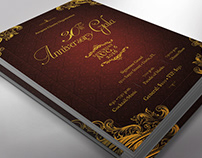 Anniversary Gala Flyer Word Publisher Template