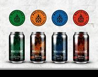 """Beer craft logo / label - """"Whetstones"""""""