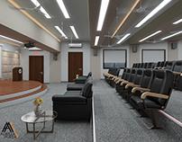 3D DYP College Auditorium