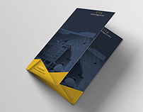 "Download Free Bifold Brochure Template ""Construction """