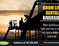 Boom Lift Rental Riverside
