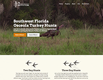 Hunting Website Design - Cypress Roost Outfitters